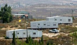 بيوت متنقلة على اراضي المواطنين