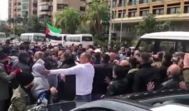 صقع لاجئة فلسطينية في بيروت