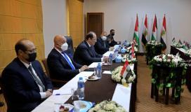 صورة ارشيفية للقاء سابق بين قادة حماس والوفد الامني المصري 5.jpg
