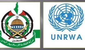 الاونروا و حركة حماس