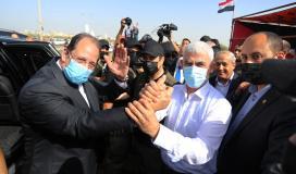 يحيى السنوار ووزير المخابرات المصرية.jpg