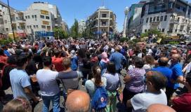 مسيرة في رام الله تنديدًا لاغتيال الناشط نزار بنات 1.jpg