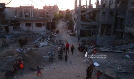 القوى الوطنية بغزة تدعو لتغطية فعالية للمطالبة بإعادة الاعمار غدًا