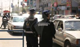 شرطة المرور تنشر حالة الحركة المرورية في محافظات قطاع غزة
