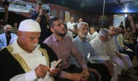 زيارة حرك الجهاد الاسلامي وسرايا القدس الى عائلة ساق الله (5).JPG