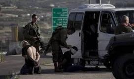 قوات الاحتلال تعتقل عددًا من المواطنين في نابلس وجنين بينهم جريح