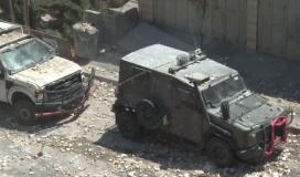 مواجهات عنيفة في بلدة بيت امر بعد تشييع جثمان الشهيد الطفل محمد العلامي