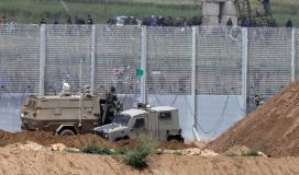قوات الاحتلال تطلق النار تجاه مكب النفايات شمال قطاع غزة