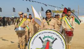 """الجهاد الإسلامي بغزة تختتم مخيماتها الصيفية """"سيف القدس"""""""