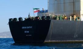 سفينة نفط ايراني.