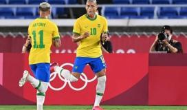 البرازيل تطيح بالمكسيك وتبلغ الدور النهائي من أولمبياد طوكيو2020