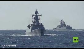 لأول مرة.. سفن حربية روسية وصينية تسير دورية مشتركة في المحيط الهادئ ....
