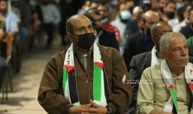 الشخصيات السياسية الوطنية والإسلامية والعلماء في احتفال ذكرى الانطلاقة الجهادية (7).JPG