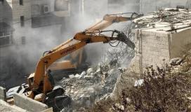 قوات الاحتلال تهدم منزلاً في القدس