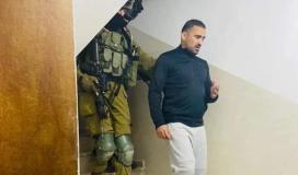 صورة لحظة اعتقال مناصرة