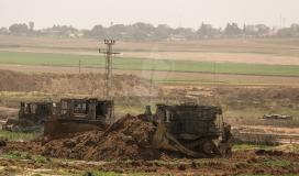"""توغل 5 جرافات عسكرية """"إسرائيلية"""" شرق قطاع غزة"""