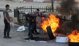 مواجهات مع قوات الاحتلال في الضفة المحتلة (ارشيف)