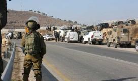 حواجز اسرائيلية في الضفة الغربية