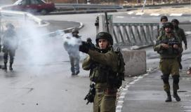 جندي اسرائيلي يطلق النار