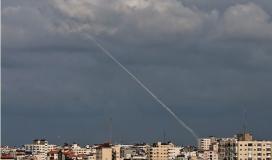 الاعلام العبري: المقاومة بغزة تطلق صاروخ تجريبي اتجاه البحر