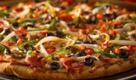 طريقة عمل البيتزا المنزلية- اسهل طريقة لتحضير البيتزا