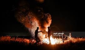 الإرباك الليلي على حدود قطاع غزة (3)