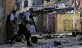 إصابات بإطلاق نار في مخيم عين الحلوة للاجئين الفلسطينيين