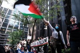 """تنديدًا بالعدوان """"الإسرائيلي"""".. مسيرات تضامنية في بلجيكا مع أهالي غزة ونصرة للقدس"""
