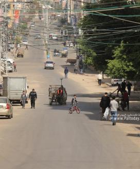 استمرار سريان الإغلاق الجزئي في قطاع غزة الذي أقرته خلية إدارة الأزمة