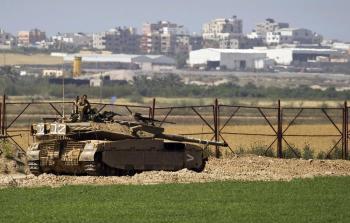 توغل دبابات الاحتلال.