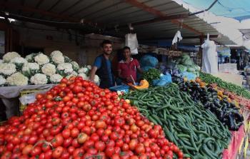 اسعار الخضروات والفواكه واللحوم في غزة اليوم الجمعة 16-4-2021