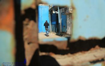 اغلاق مراكز الاونروا في قطاع غزة  (7).JPG