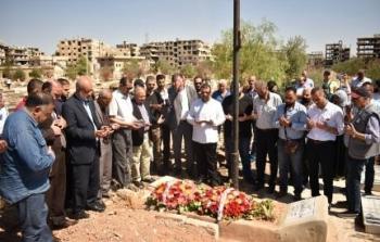 الفصائل في دمشق تحيي ذكرى الشاهد الأمين (1).jpg