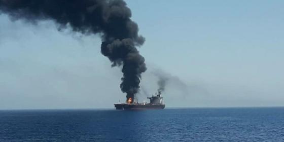سفينة في الخليج
