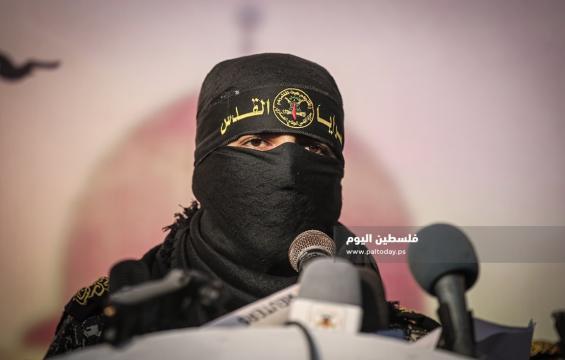 الناطق العسكري باسم سرايا القدس أبو حمزة (2)