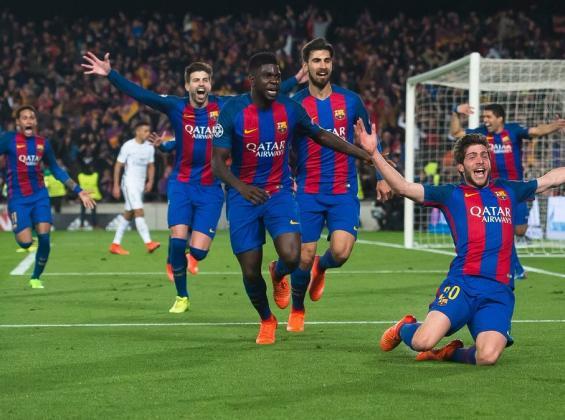برشلونة يحقق الريمونتادا على إشبيلية
